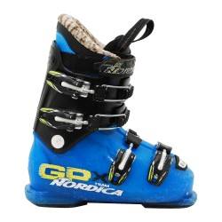 Skiboot Junior Nordica GPX Team schwarz blau