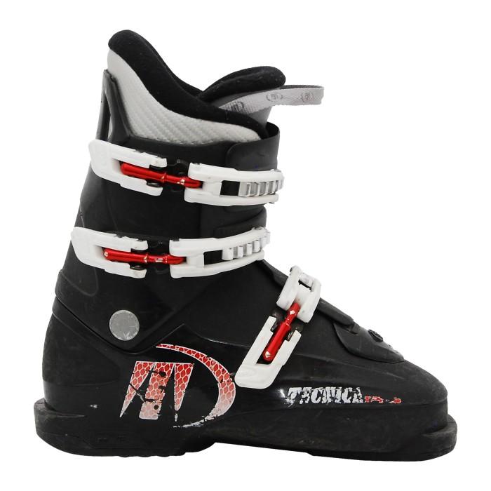 Junior usado Zapato de esquí Negro Tecnica RJ