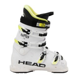 Chaussure de ski occasion junior Head Raptor 70 blanc