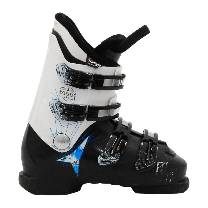 Chaussure de Ski Occasion Junior Atomic waymaker JR plus noir blanc qualité A