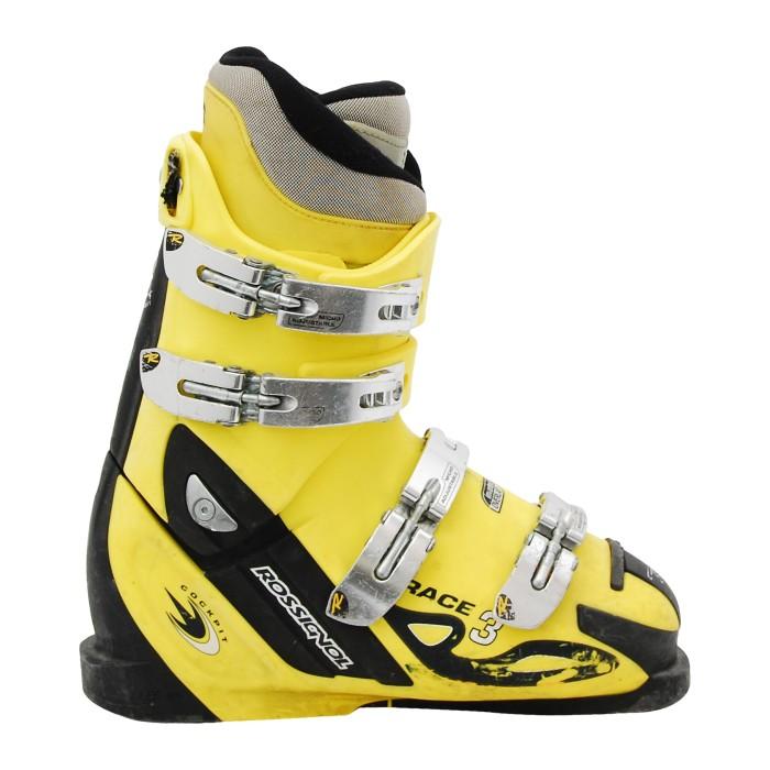 Chaussure junior occasion Rossignol Race 3 jaune noir