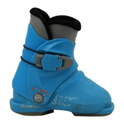 Junior used ski boot Lange my first sky blue