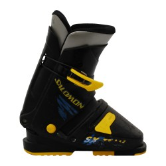 Gebrauchter Skischuh Salomon SX Team schwarz