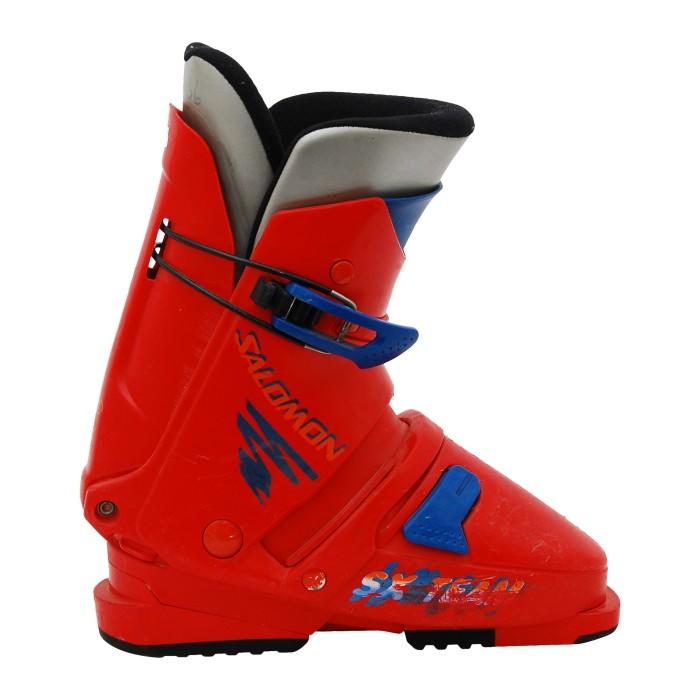 Gebrauchter Skischuh Salomon SX team red