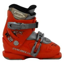 Dalbello CX R orange junior used ski boot