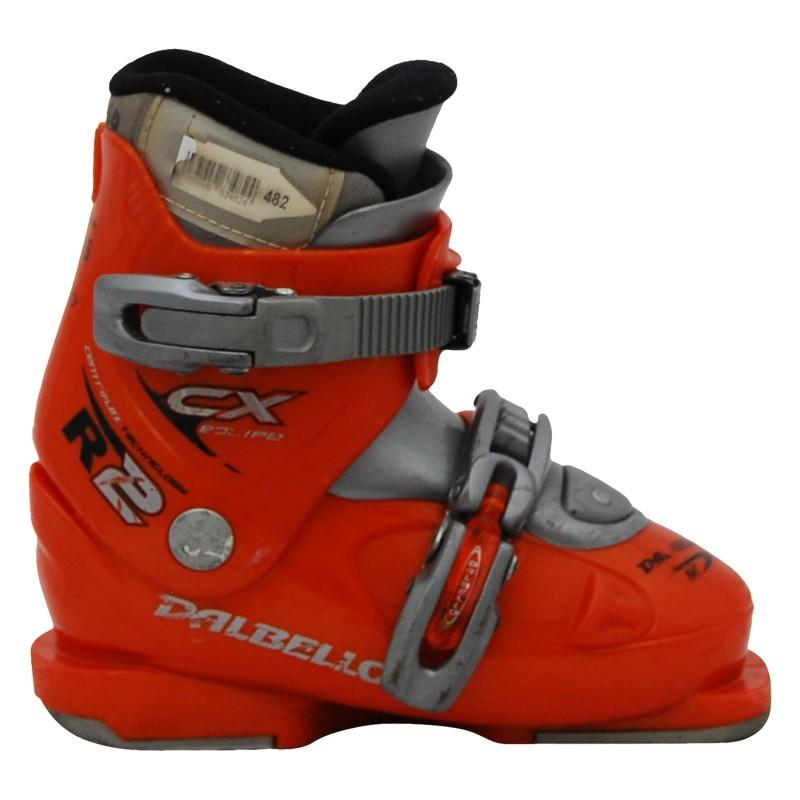 Chaussure de ski occasion junior Dalbello CX R orange qualité A