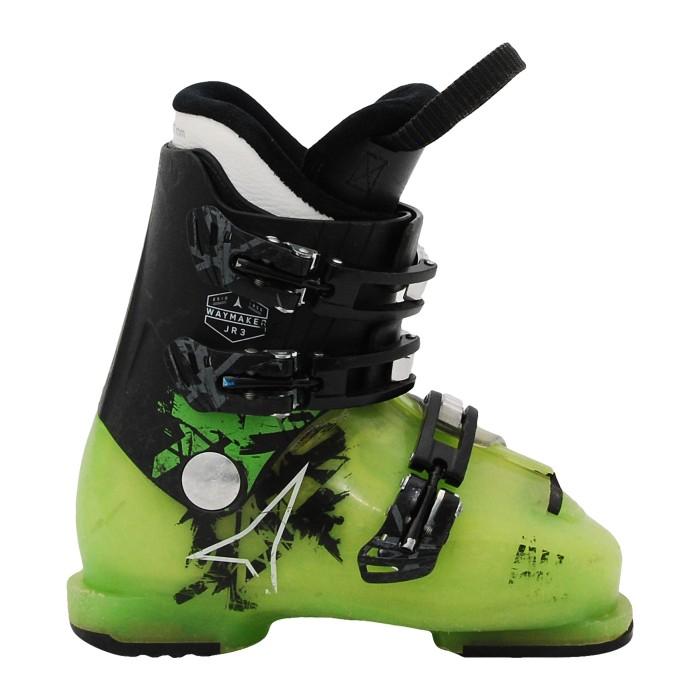 Junior Atomic waymaker JR Sci Shoe più nero/verde