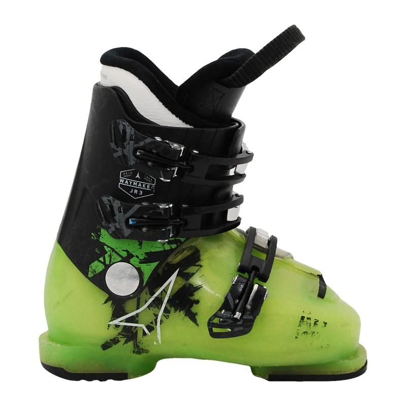 Chaussure de Ski Occasion Junior Atomic waymaker JR plus noir/vert qualité A