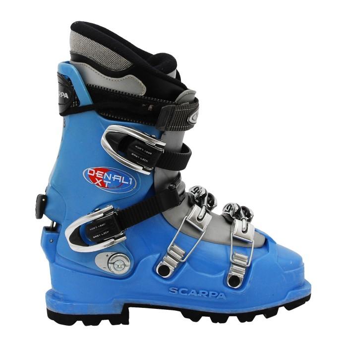 Chaussure de ski de Randonnée occasion Scarpa Denali XT bleu