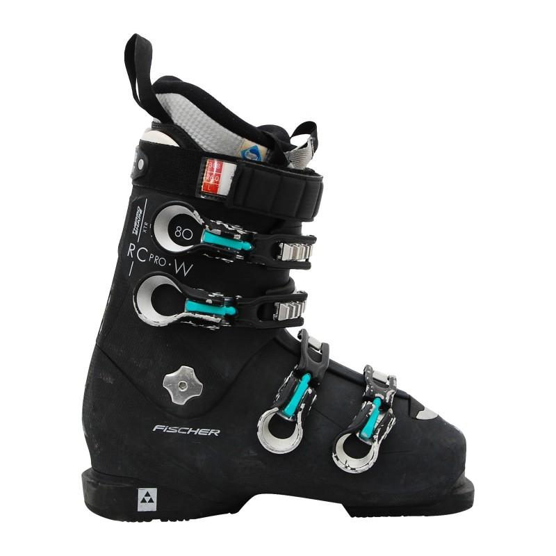 Chaussure de Ski occasion Fischer RC pro w 80 noir qualité A