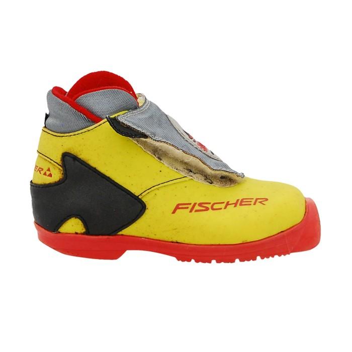 Gebrauchtlanglaufschuh Fischer SL verleih TR yellow