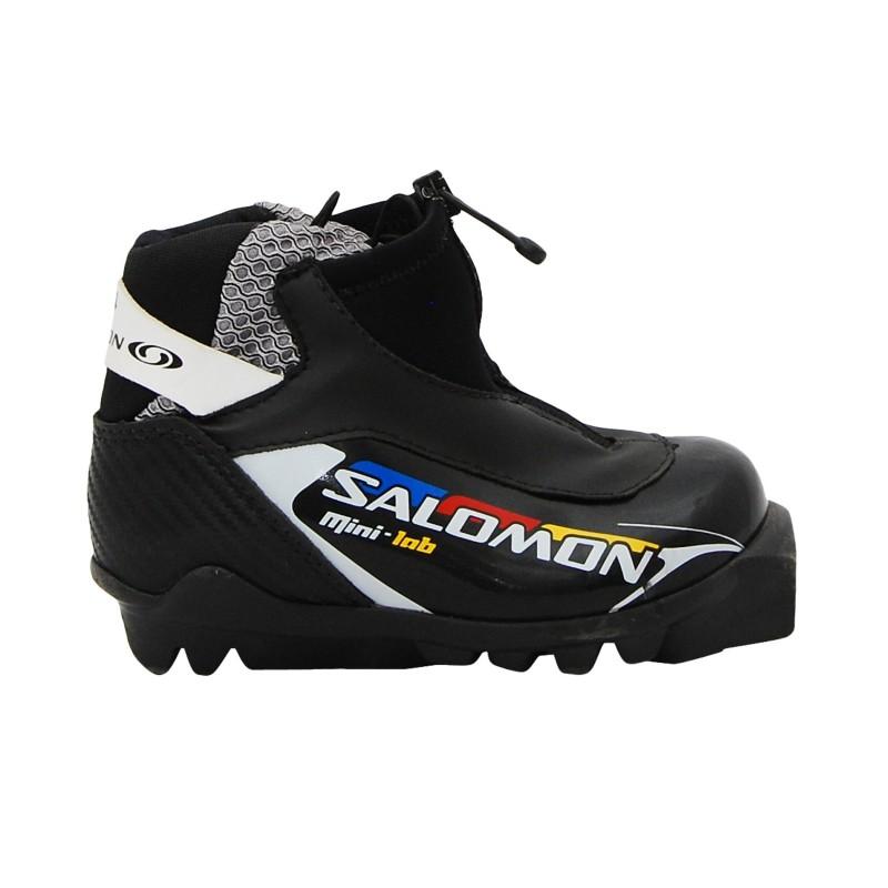 Chaussure ski fond occasion Salomon Mini Lab qualité A