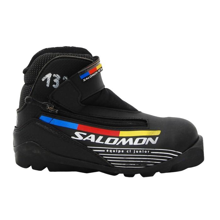 Chaussure ski fond occasion Salomon CL junior