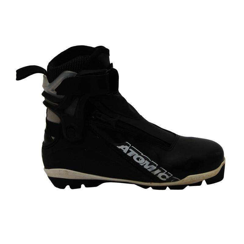 Chaussure ski fond occasion Atomic black sns pilot qualité A