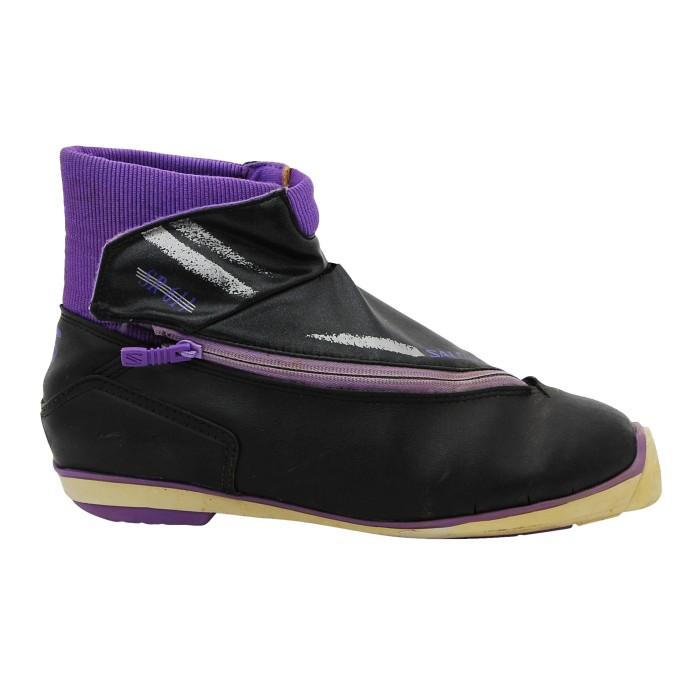 Gebrauchte Skischuhe Salomon sr 611 purple