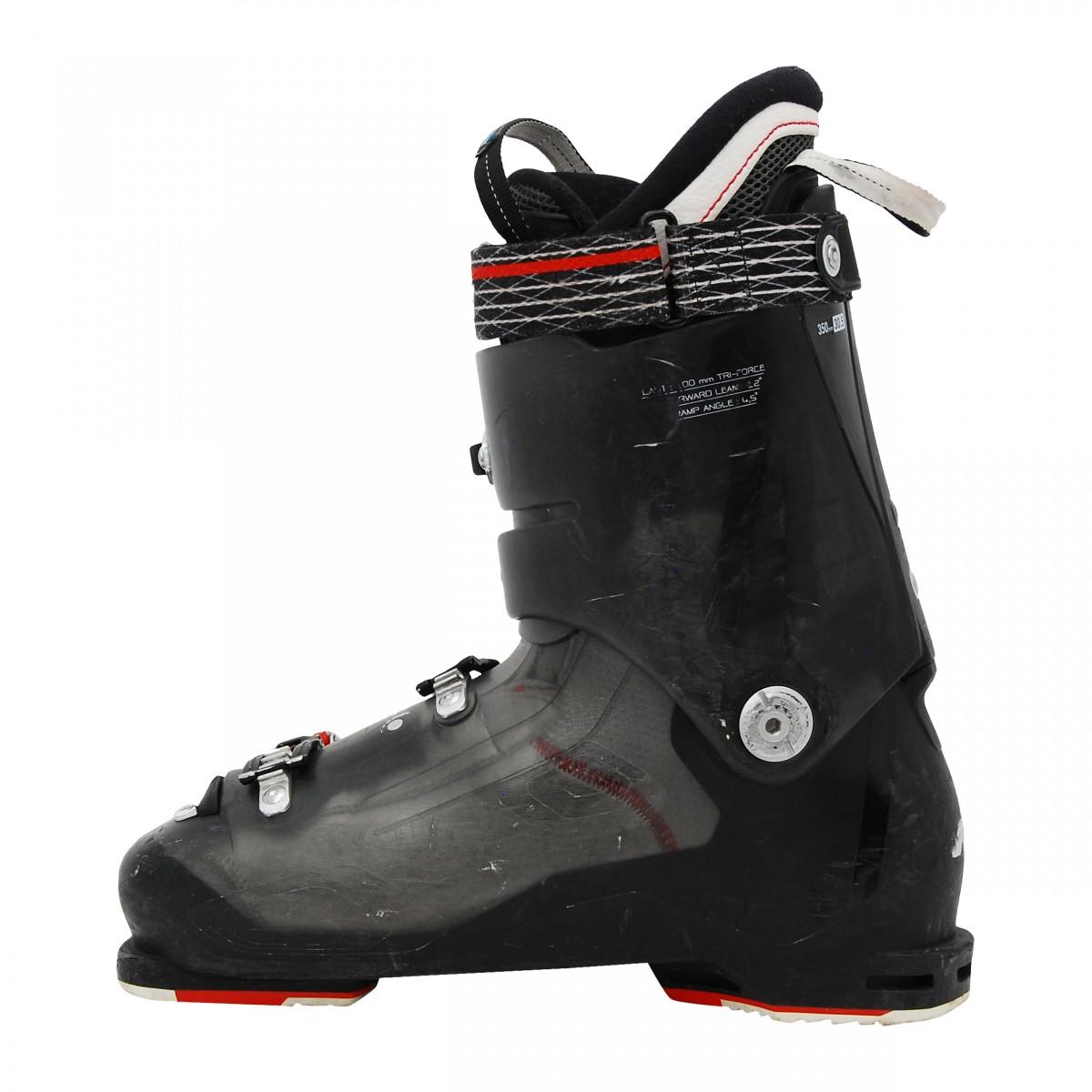 Chaussure-Ski-alpin-occasion-NORDICA-Speedmachine-110R-noir-rouge miniature 4
