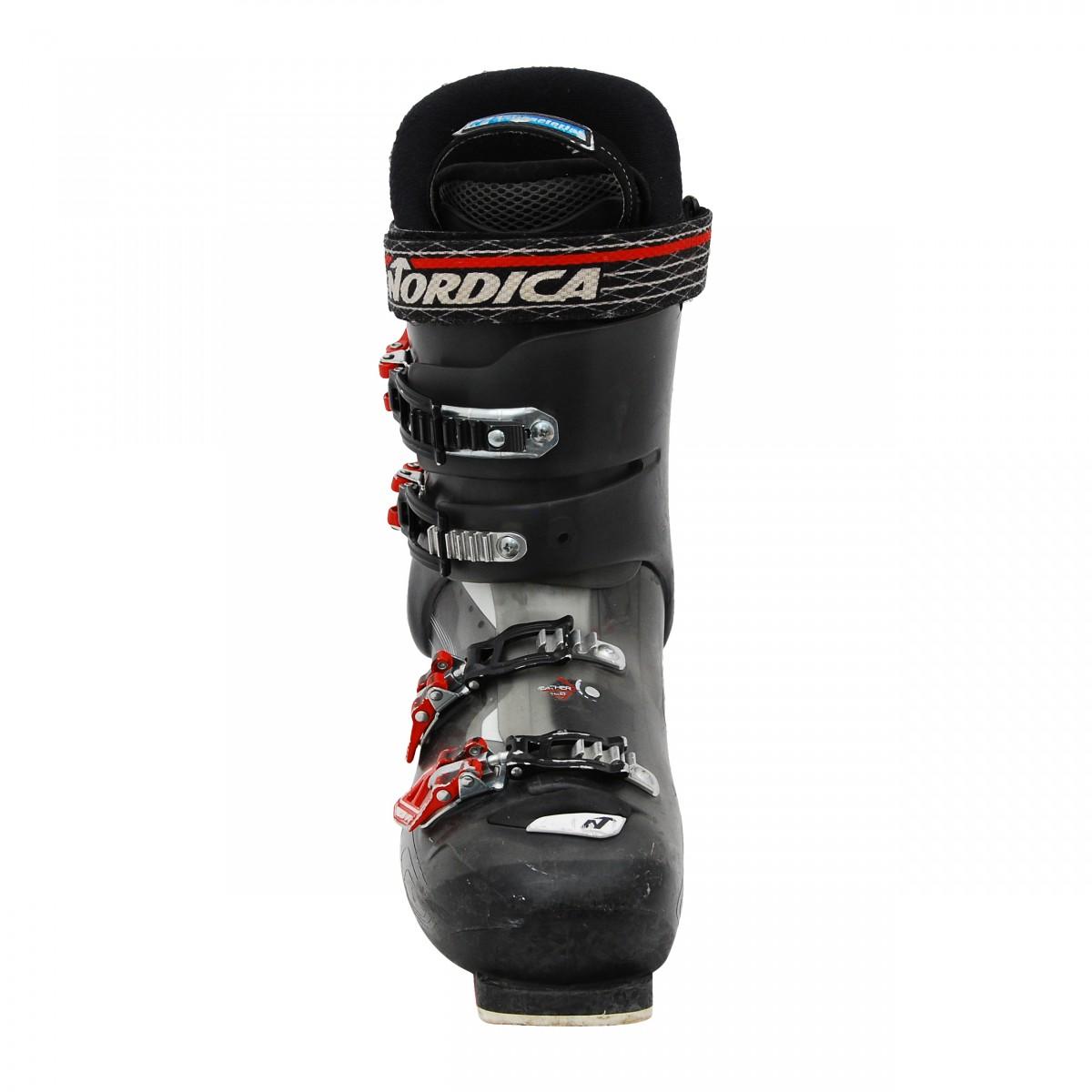Chaussure-Ski-alpin-occasion-NORDICA-Speedmachine-110R-noir-rouge miniature 5