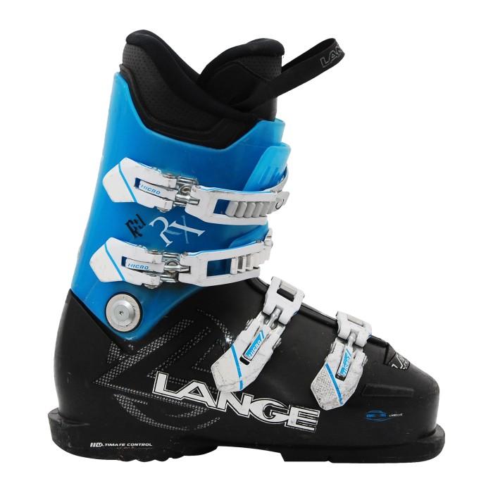 Skischuh Lange RX schwarz blau rtl