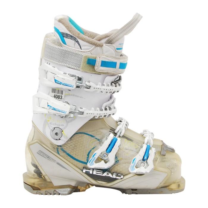 Gebrauchter Skischuhkopf passt Kante 100 w weiß an