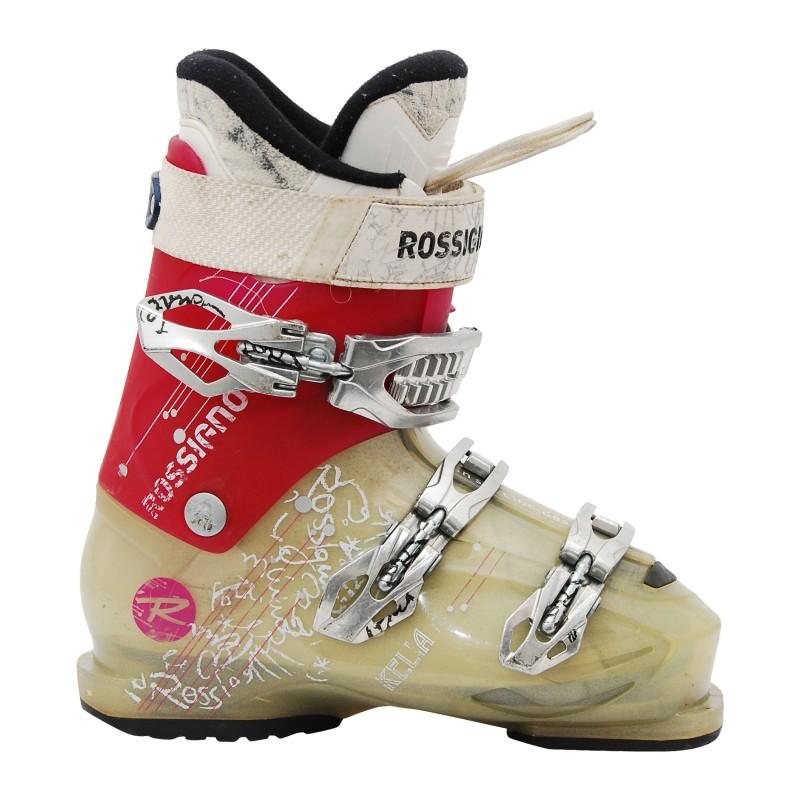 Chaussure de ski Occasion Rossignol Kelia gris/rose qualité A