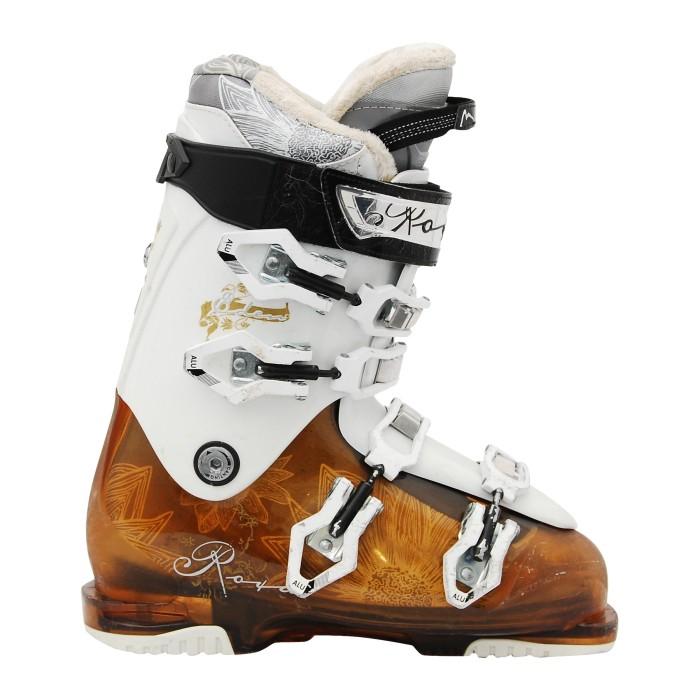 Chaussure de ski occasion Roxa Eden 95 blanc marron