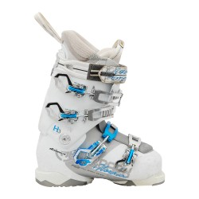 Nordica Hell und hinten h3w weiß gebrauchte Skischuhe