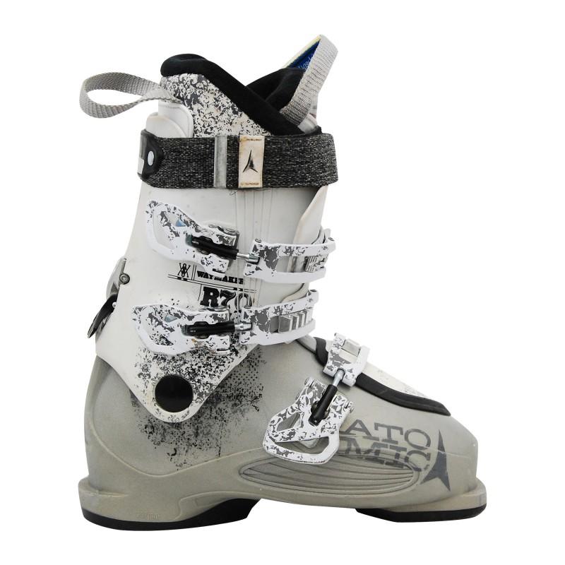 Chaussures de ski occasion Atomic waymaker r70 blanc gris qualité A