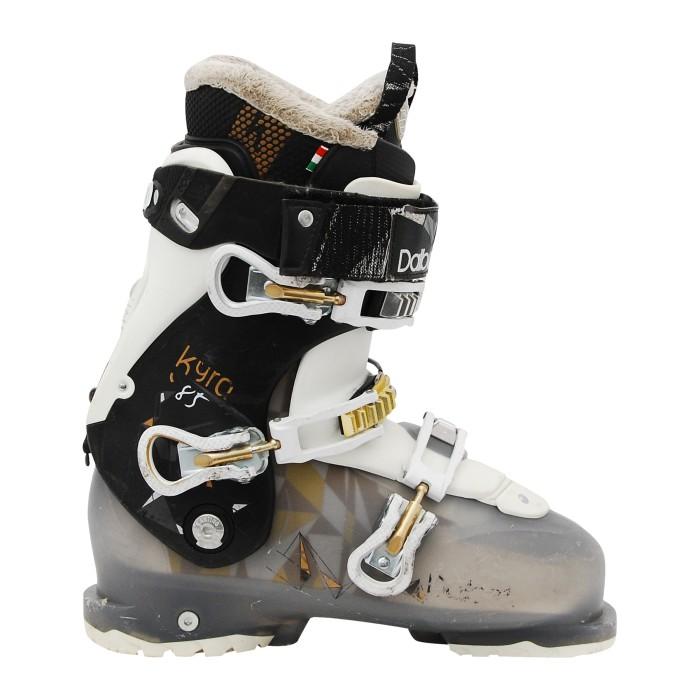 Chaussure de ski occasion Dalbello Kyra 85 noir translucide