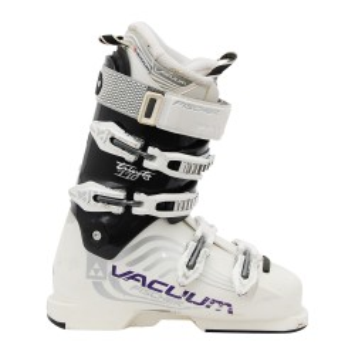 Chaussure de ski occasion Fischer Trinity Vacuum 110 blanc noir