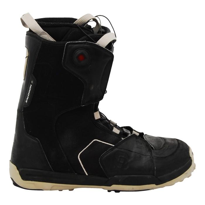 Boots occasion Salomon symbio noir logo
