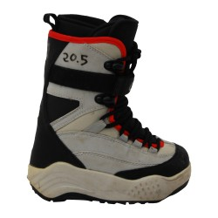 Boots occasion junior O'sin gris noir