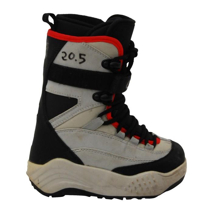 O'sin Junior used Boots Black Grey