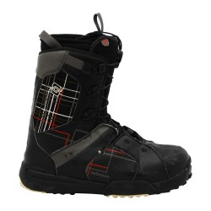 Boots occasion Salomon Kamooks ecossais