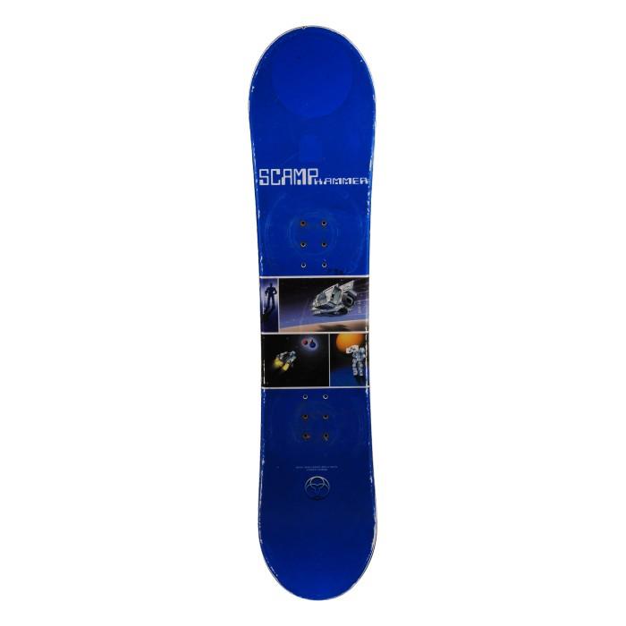 Snowboard occasion junior Hammer Scamp espace 2e choix + fixation