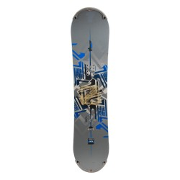 Snowboard occasion junior Rossignol accelerator bmp + fixation coque
