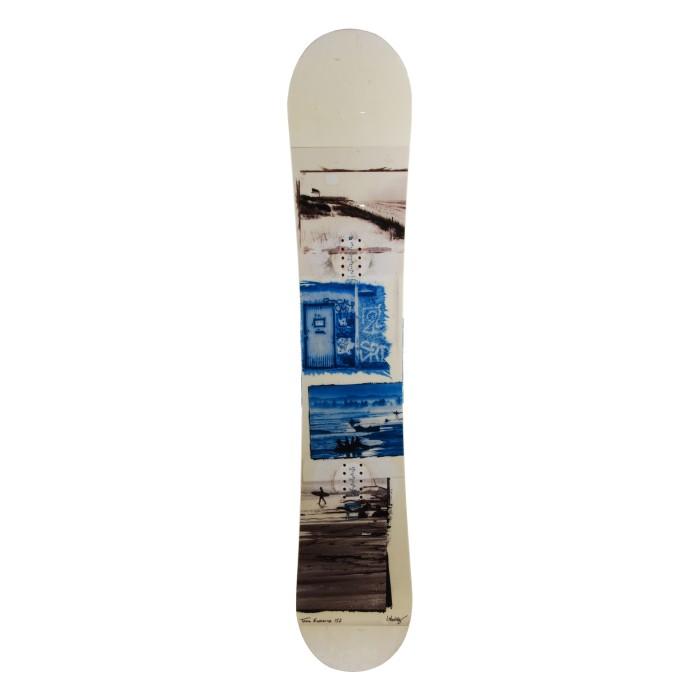 Snowboard occasion Nitro Team exposure + fixation coque