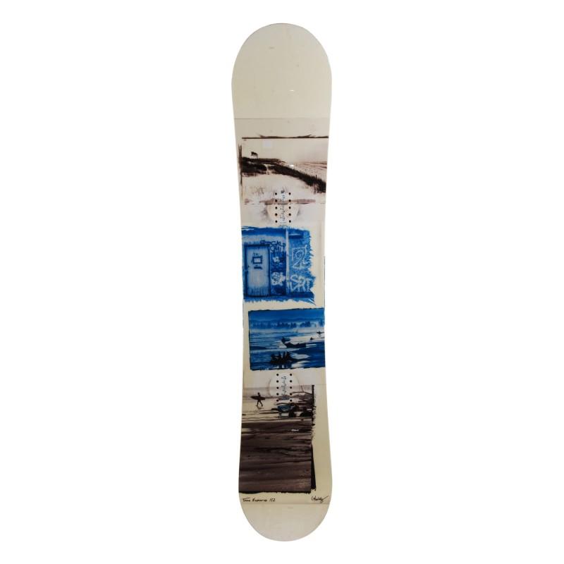 Snowboard occasion Nitro Team exposure Qualité A + fixation