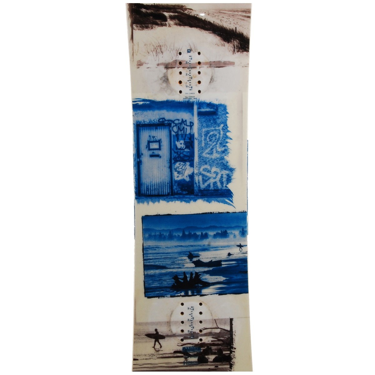 Snowboard-occasion-Nitro-Team-exposure-fixation miniature 4