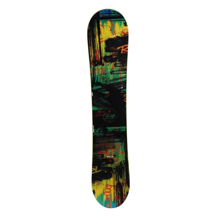 Snowboard occasion junior Rossignol alias + fixation coque