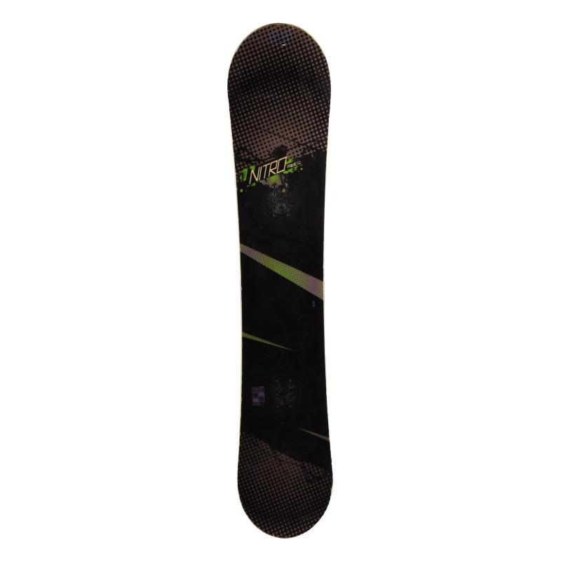 Snowboard occasion Nitro prime Qualité A + fixation