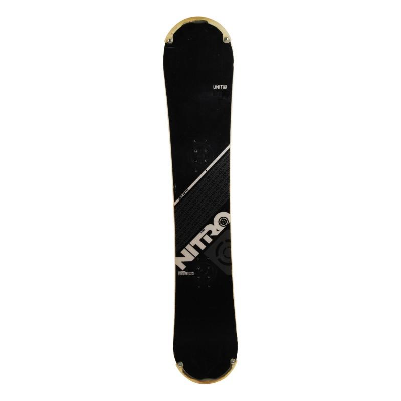 Snowboard occasion Nitro Unit FR Qualité A + fixation