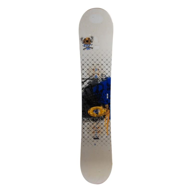 Snowboard Salomon Puls rtl grau / rot + Bindung