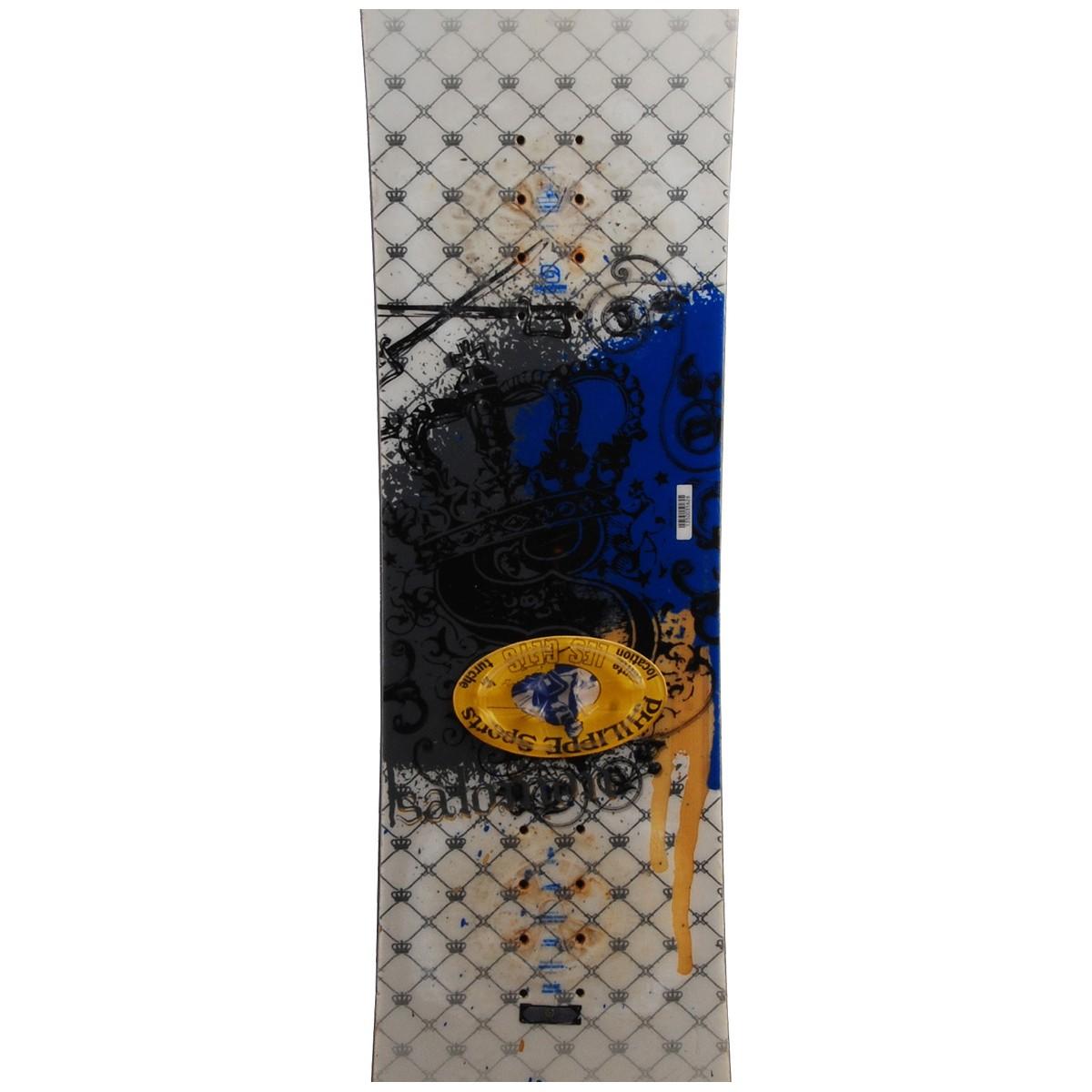 Snowboard-occasion-Salomon-pulse-rtl-fixation miniature 4