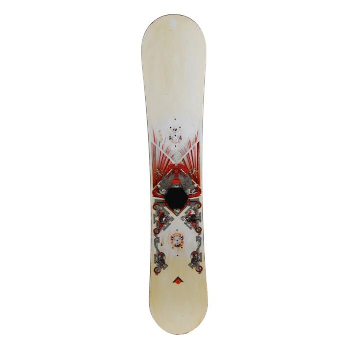 Snowboard Anlass Burton White Kollektion - Befestigung