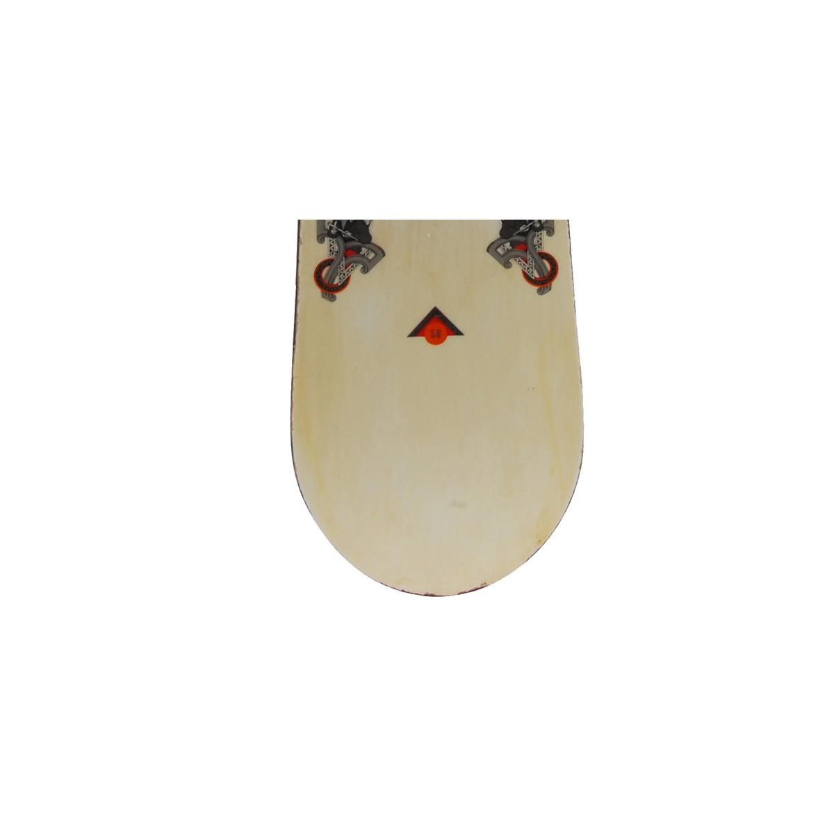 Snowboard-occasion-Burton-White-collection-fixation miniature 5