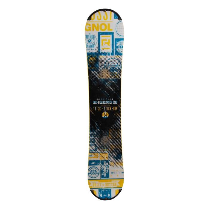 Snowboard occasion Rossignol trick stick RSP + fixation