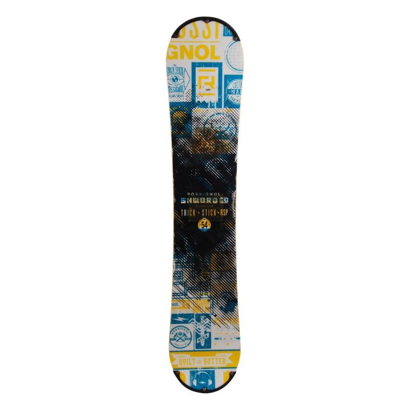 Snowboard occasion Rossignol trick stick RSP Qualité B + fixation