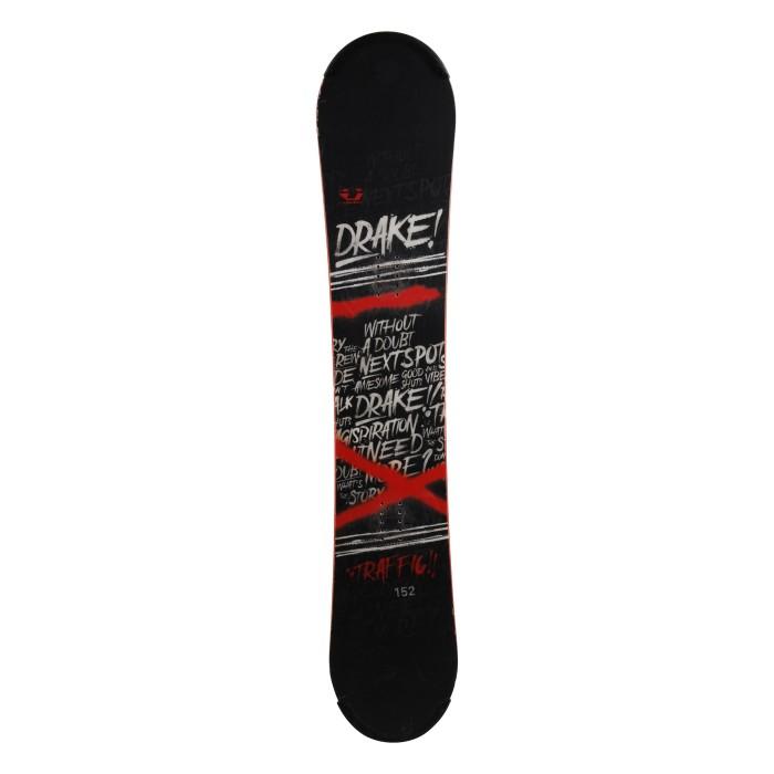 Snowboard occasion Drake Traffic + fixation