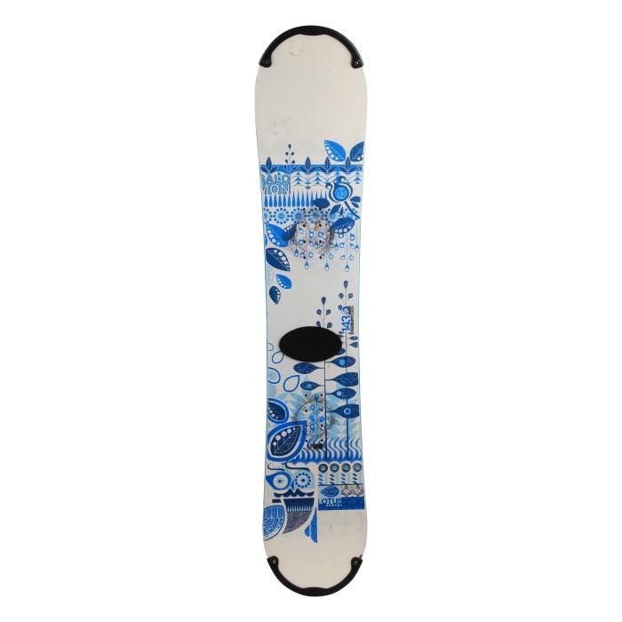 Snowboard occasion Salomon Lotus w + fixation