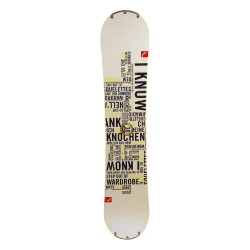 Snowboard occasion Head tribute R I know + fixation